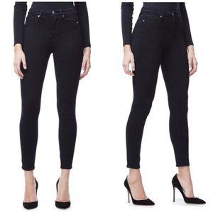 Good American High Rise Skinny Crop Jeans